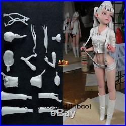 Klondike Soil Garage Kit Unpainted Resin Model Little Girl Figure Unassembled GK