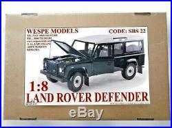 LAND ROVER DEFENDER Wespe 18 big scale off road resin model vehicle kit SBS22