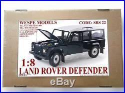 LAND ROVER DEFENDER Wespe Models 18 SCALE resin kit SBS 22