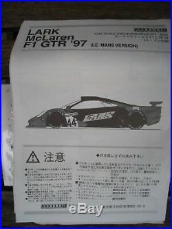 LARK McLaren F1 GTR Bausatz 124 MODELLER'S Resin Kit OVP Rarität