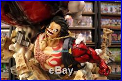 LBS Gear Fourth Monkey D. Luffy GK Super Large Statue Painted Model Garage Kit