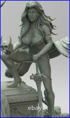Lady Death 1/6 Scale Resin Model Kit