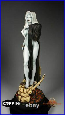 Lady Death Seductress Limited UnPainted Resin Model Kit Statue
