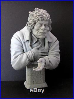 Lon Chaney Hunchback Rare Resin Portrait Bust Quasimodo Monster Model