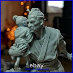 Lone Wolf and Cub Samura 1/6 Figure Statue Resin Model Kit Unpainted 3D Printed