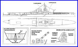 Loose Cannon HMS FURIOUS 1918 1/700 waterline resin kit