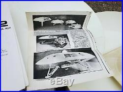 Lunar Models 16 Jupiter 2 Lost In Space Kit Resin Model Kit 135 Spacecraft UFO