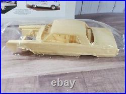 MCW 1966 Plymouth Belvedere 2-Door 125 Scale Resin Model Car Kit Revell 67 GTX