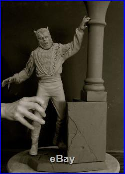 MONSTER CURSE WEREWOLF 1/4 SCALE RESIN KIT 20 TALL WithBASE YAGHER SCULPT