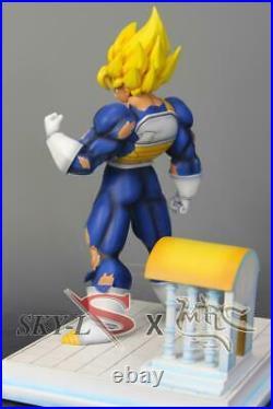 MRC & Sky Goku Time Chamber Temple GK Resin Statue Figure DBZ DragonBall Z COA