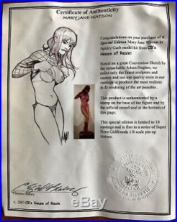 Mary Jane Watson 1/8 resin model kit Spider-Man sexytime
