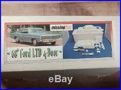 Missing Link 1968 Ford LTD. 4-Door 125 Resin Model'68 Car Kit