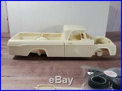 Modelhaus 1964 Dodge D-100 Sweptside Pickup Truck 125 Scale Resin Model Kit