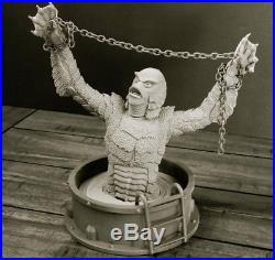 Monster Revenge Of The Creature 1/6 Scale Bust Resin Kit (yagher Sculpt)