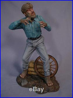 Monster Wolfman 1/4 Scale Resin Kit (yagher Sculpt)