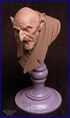 Monsterpappa Nosferatu Orlok by Andy Bergholtz Translucent Resin Bust