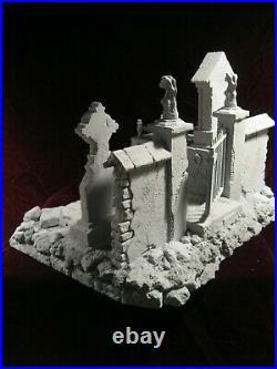 NEW BASE CEMETERY 6 resin kit. Design, sculpt, by JL CRINON