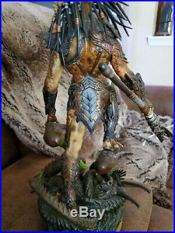 Narin Predator Painted Resin Model Kit Statue Death warrior