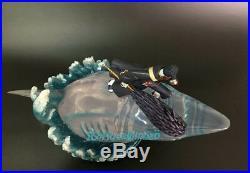 Naruto Hoshigaki Kisame Resin Model Painted Shark Lucency Statue Garage Kit New