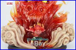 Naruto Might Guy GK Resin Model Statue Garage Kit LED Light Figure 32cm/12.5''H