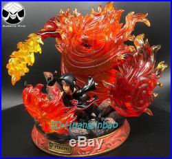Naruto Uchiha Itachi GK Model Susanoo Resin LED SD Garage Kit Statue 30cm/12''H