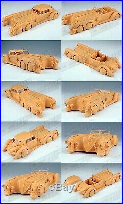 Nemo's Car 1/24 Scale Construction Kit Unpainted Resin Kits Model Unassembled