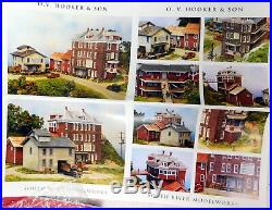 New HO Scale South River Model Works OV Hooker & Son Mill Supply Factory Kit 350