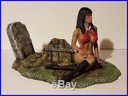 New Sexy Female Vampirella Resin Figure Model Kit 1/6 Th Scale