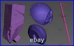 NieRAutomata 2B 9S Resin Model Kits Unpainted 3D Printing 1/8 Scale H37cm