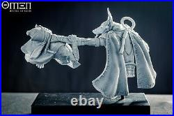 OMEN Battle of Gods Anubis Bust Diorama Unpainted 1/10th resin kit