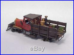 On3/On30 WISEMAN MODEL SERVICES LOGGING /MINING MOW RAIL TRUCK POWERED KIT