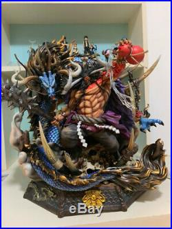 One Piece Kaido Statue Resin Figurine Model Kits GK Black Pearl Studio New