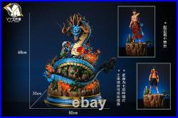 One Piece Kaido Statue Resin Figurine Model Kits GK YY studio presale 60cm