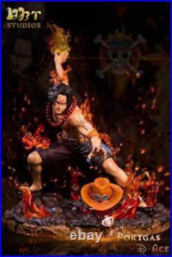 One Piece Portgas D Ace Statue Model Kits Collections Resin GK BBT Presale 1/6