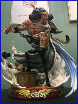 One Piece Rob Lucci Resin Statue GK Figurine CP9 Model Kits Naga Studio New