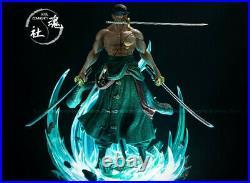 One Piece Roronoa Zoro GK Statue Resin Model Kits Soul Community 1/6