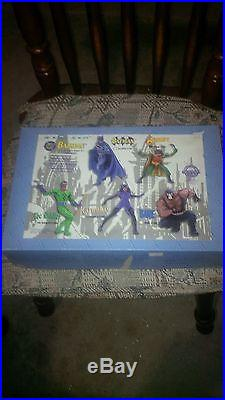 Orginal Superhero Horizon Solid Resin Model Kit Batman and Robin 1/8 Statue