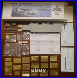 Ostrich Hobby 1/700 HMS Queen Elizabeth aircraft carrier waterline resin kit