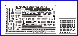 Ostrich Hobby 1/700 Italian Navy Orizzonte class D553 Andrea Doria resin kit