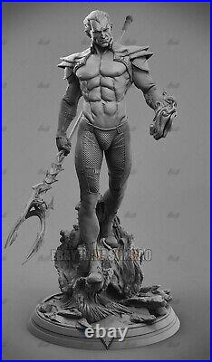 Phoenix Force Namor 1/6 Figure 3D Print Model Unpainted Unassembled H40cm/15.7in