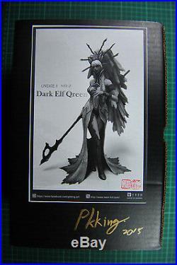 Pkking original kit Dark Elf Queen Unpainted Resin Original Kit