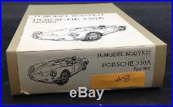 Porsche 550a Spyder race car RESIN KIT 1/24 H. Model Bodykit McM