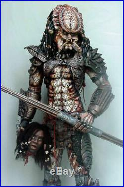 Predator 2 resin model kit. 1/3 scale stands around 28 on base! Unpainted