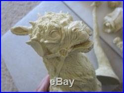 RARE 1/6 Star Wars Hoth Luke Skywalker on Tauntaun resin figure model garage kit
