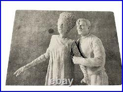 RARE Bride Of Frankenstein & Dr. Frankenstein. 2 Figure 1/8 Scale Resin Model