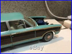 RESIN/ MODELHAUS 1967 FORD GALAXIE 4-DOOR WAGON PROJECT! CIRCA 1990s