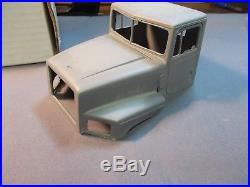 R&C Trucking 1996 International Paystar 5000 tilt hood resin cab conversion. 1/25