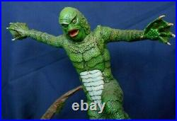 Rare Creature from the Black Lagoon built-up resin model kit Universal Monsters