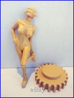 Rare Hajime Sorayama Sexy Robot 9 1/2 Naughty Sculpture Unpainted Resin Kit