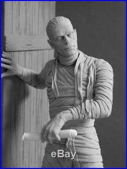 Rare Mummy figure sculpted by J, Yagher resin model kit
